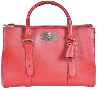 Mulberry Bayswater tote Red Leather Handbag