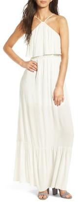 Women's Dee Elly Popover Maxi Dress $55 thestylecure.com