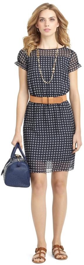Square Print Dress 3
