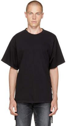 Faith Connexion Black Side Lace T-Shirt