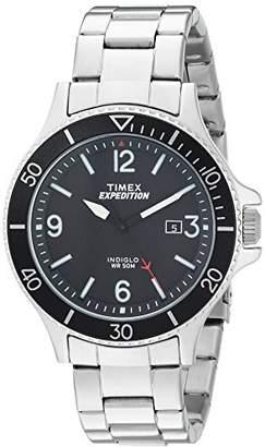 Timex Men's TW4B10900 Expedition Ranger Stainless Steel Bracelet Watch