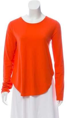 Calvin Klein Collection Long Sleeve Knit Top