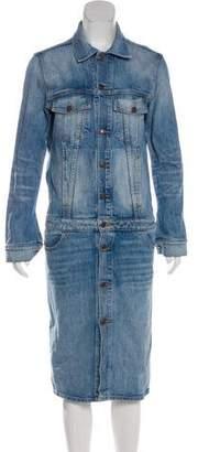 6397 Denim Midi Dress