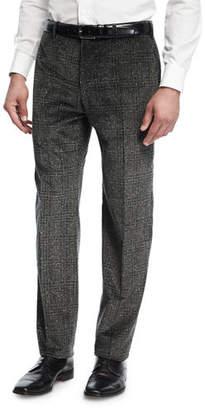 Zanella Donegal Plaid Corduroy Pants