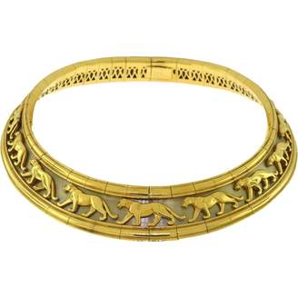 Panthère yellow gold necklace