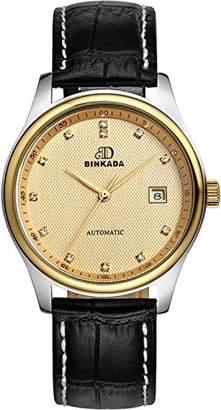 Gents BINKADA Automatic Mechanical Dial Men's Wrist Watch N02-5