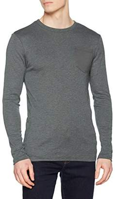 G Star Men's Belfurr Regular Pocket R T L/s Long Sleeve Top