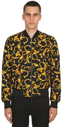 Versace Reversible Greek & Baroque Canvas Jacket