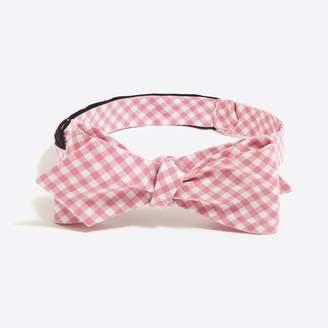 J.Crew Factory Oxford cotton bow tie
