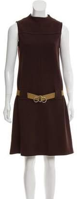 Orla Kiely Belted Knee-Length Dress