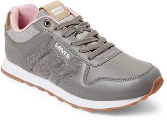 Levi's Grey Tessa Chambray Sneakers
