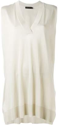 Calvin Klein sleeveless V-neck sweater
