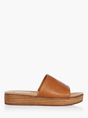 e4ec1370c44 at John Lewis and Partners · Steve Madden Genca Flatform Sandals