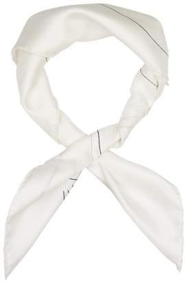 Calvin Klein X Andy Warhol Foundation Printed Silk Scarf