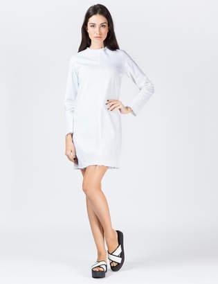 Aries White X Twill L/S Dress