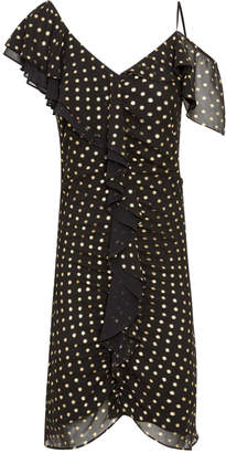 Sam Edelman Foil Dot Print Dress