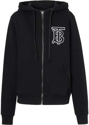 Burberry monogram print hoodie