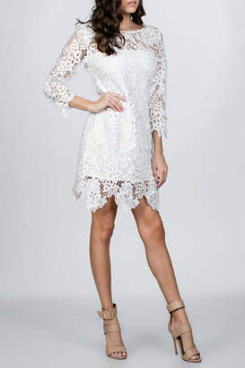Ark & Co White Lace Dress