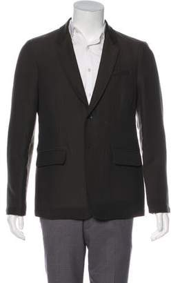 Rag & Bone Printed Notch-Lapel Blazer