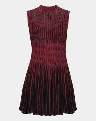 Theory Knit Novelty Checker Dress