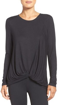 Women's Zella 'Twisty Turn' Tee $54 thestylecure.com