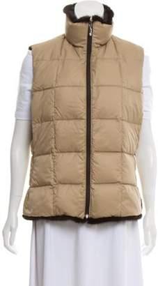 Moncler Vintage Reversible Puffer Vest Brown Vintage Reversible Puffer Vest