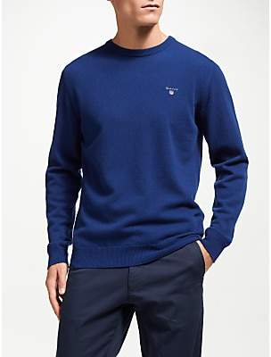 Gant Super Fine Wool Crew Neck Jumper