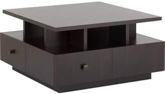 Furniture of America Oldin Tiered Square Top Coffee Table, Espresso