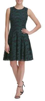 Tommy Hilfiger Woodstock Lace Fit-&-Flare Dress
