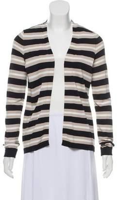 Calvin Klein Stripe Open Front Cardigan