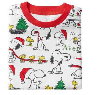 Pottery Barn Kids Snoopy® Cotton Tight Fit Pajama, 3T