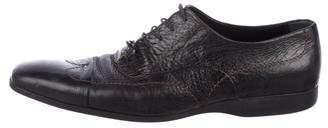 Louis Vuitton Square-Toe Wingtip Oxfords