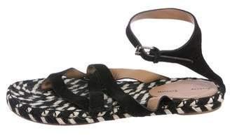 Proenza Schouler Crossover Espadrille Sandals