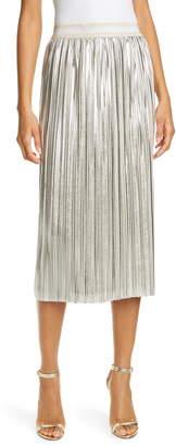 Ted Baker Ariiana Metallic Pleat Skirt