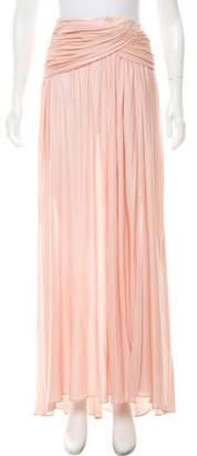 Emilio Pucci Slit-Accented Midi Skirt