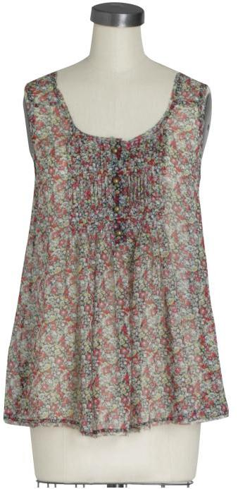 Juicy Couture Felicity Floral Top