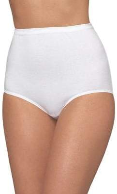 Bali Full Cut Fit Stretch Cotton Brief