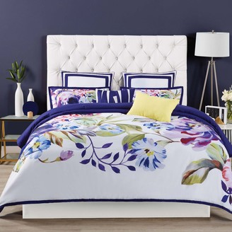 Christian Siriano 3-piece Garden Bloom Duvet Cover Set