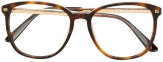 Etro tortoise shell square frame glasses