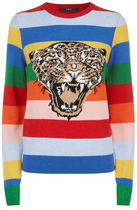SET Striped Tiger Sweater