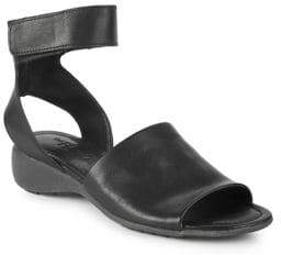 The Flexx Beglad Leather Wedge Sandals