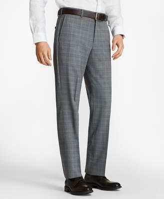 Brooks Brothers Regent Fit BrooksCool Plaid Trousers