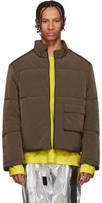 Oakley by Samuel Ross Brown Puffy Jacket