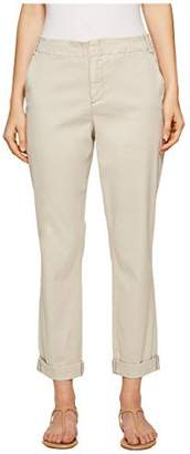 NYDJ Women's Roll Cuff Chino Pants