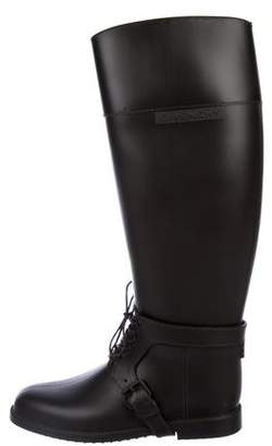 Givenchy Rubber Knee-High Rain Boots