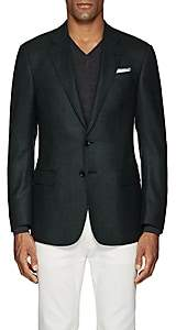 Giorgio Armani Men's Virgin Wool Two-Button Sportcoat - Green