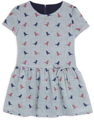Isabel Garreton Little Girl's Cap Sleeve Drop Waist A-Line Dress