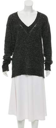 Burberry Cashmere-Blend Knit Sweater