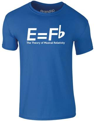 Theory Brand88 The of Musical Relativity, Adults T-Shirt - L