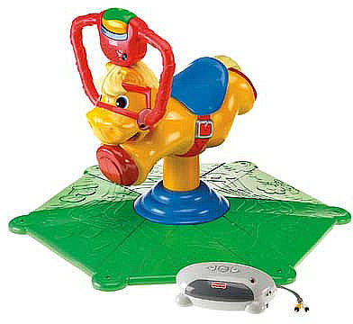 Fisher-Price Laugh & Learn Smart Bounce and Spin Pony